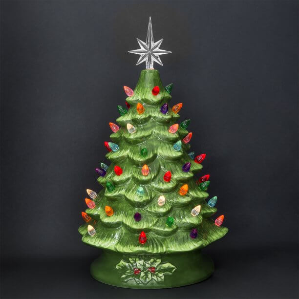 Most Beautiful Ceramic Christmas Trees - 30 Most Beautiful Ceramic Christmas Trees - Christmas Celebration