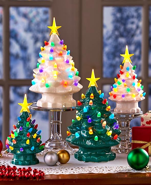 most beautiful ceramic christmas trees - Ceramic Christmas Decorations