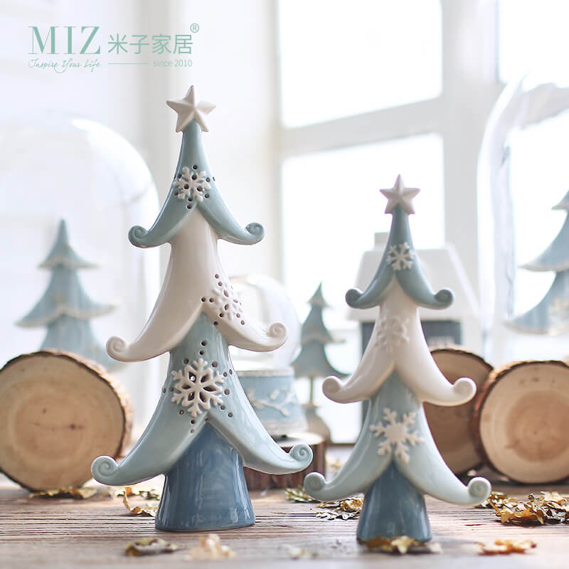 30 Most Beautiful Ceramic Christmas Trees - Christmas ...