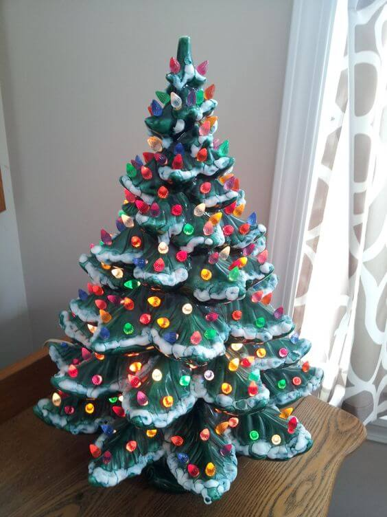 Ceramic Christmas Tree With Lights.30 Most Beautiful Ceramic Christmas Trees Christmas