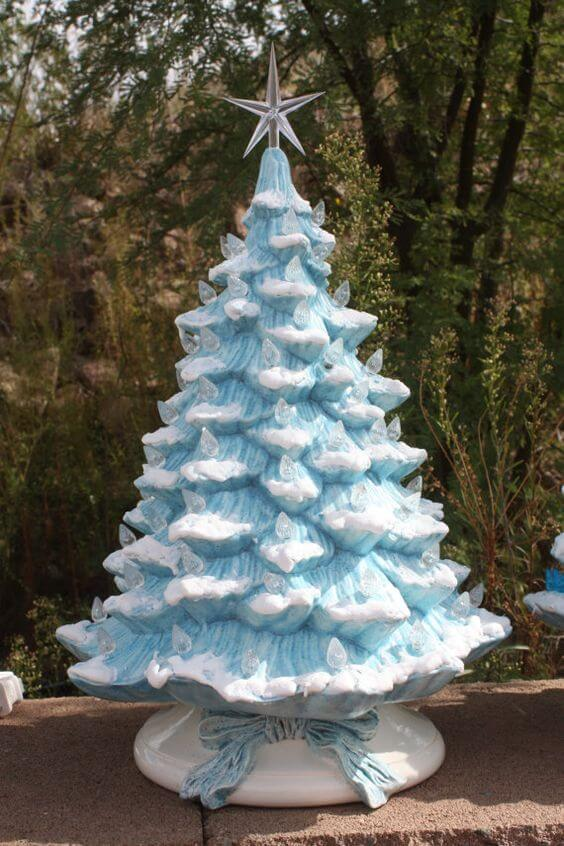 30 Most Beautiful Ceramic Christmas Trees Christmas Celebration