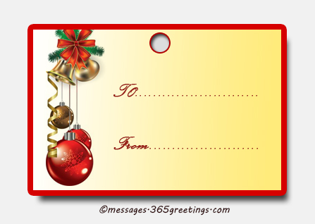 25 Best Christmas gift tags - Christmas Celebration - All about ...