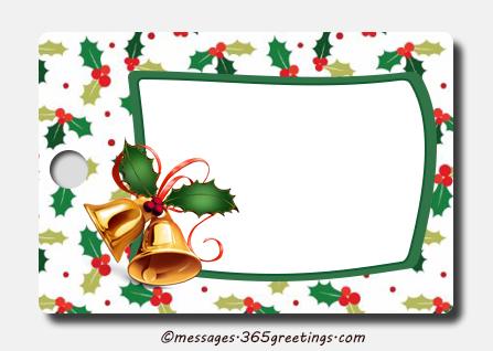 25 Best Christmas gift tags - Christmas Celebration