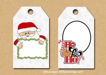 25 best christmas gift tags christmas celebration all about santa christmas gift tags negle Gallery