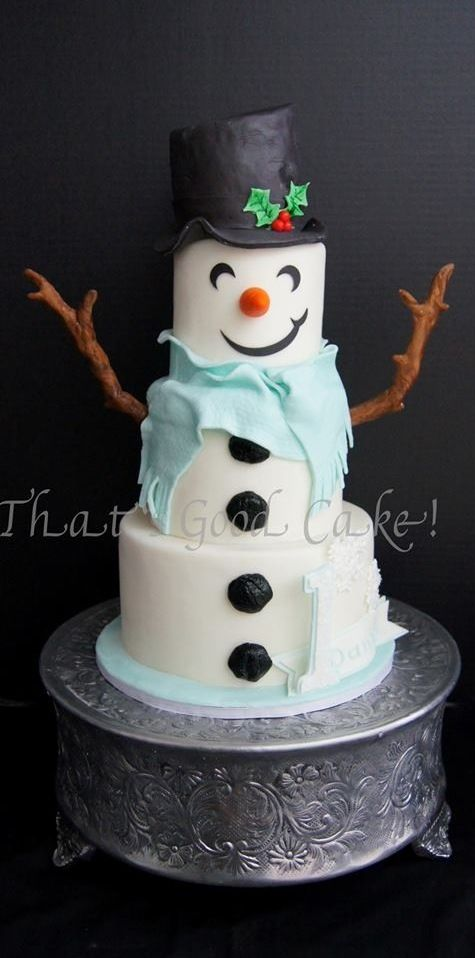 25-best-cake-designs-christmas-2017
