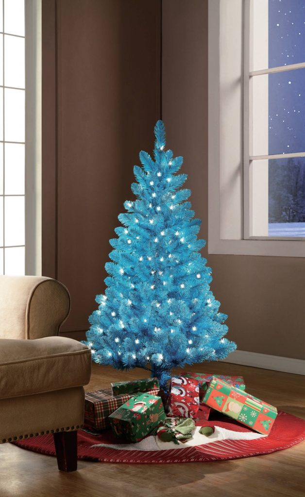 Mesmerizing Blue Christmas Tree Decorations , Christmas