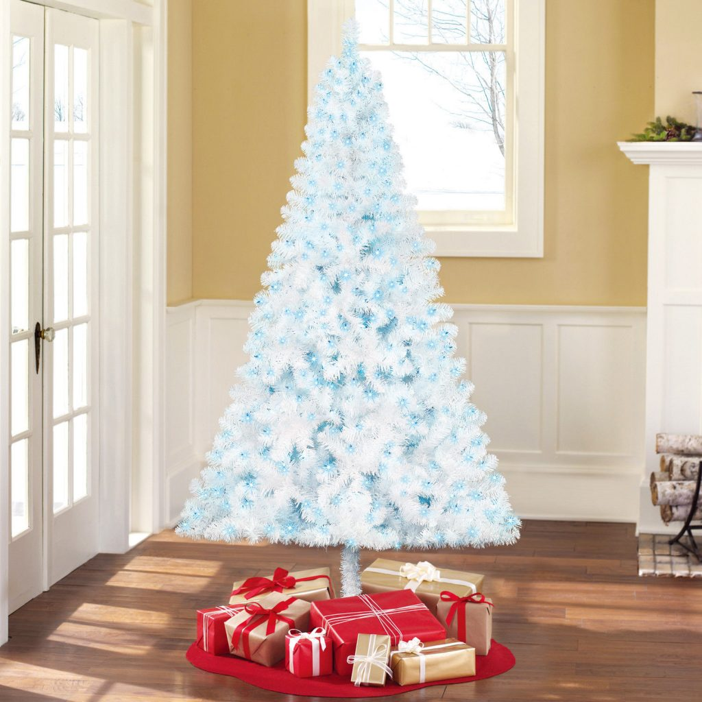Blue christmas trees decorating ideas - Spread Some Joy In Your House By Decorating It With A Beautiful Sky Blue Christmas Tree Decorated With Mini Led Lights Ensure That You Store It Properly So