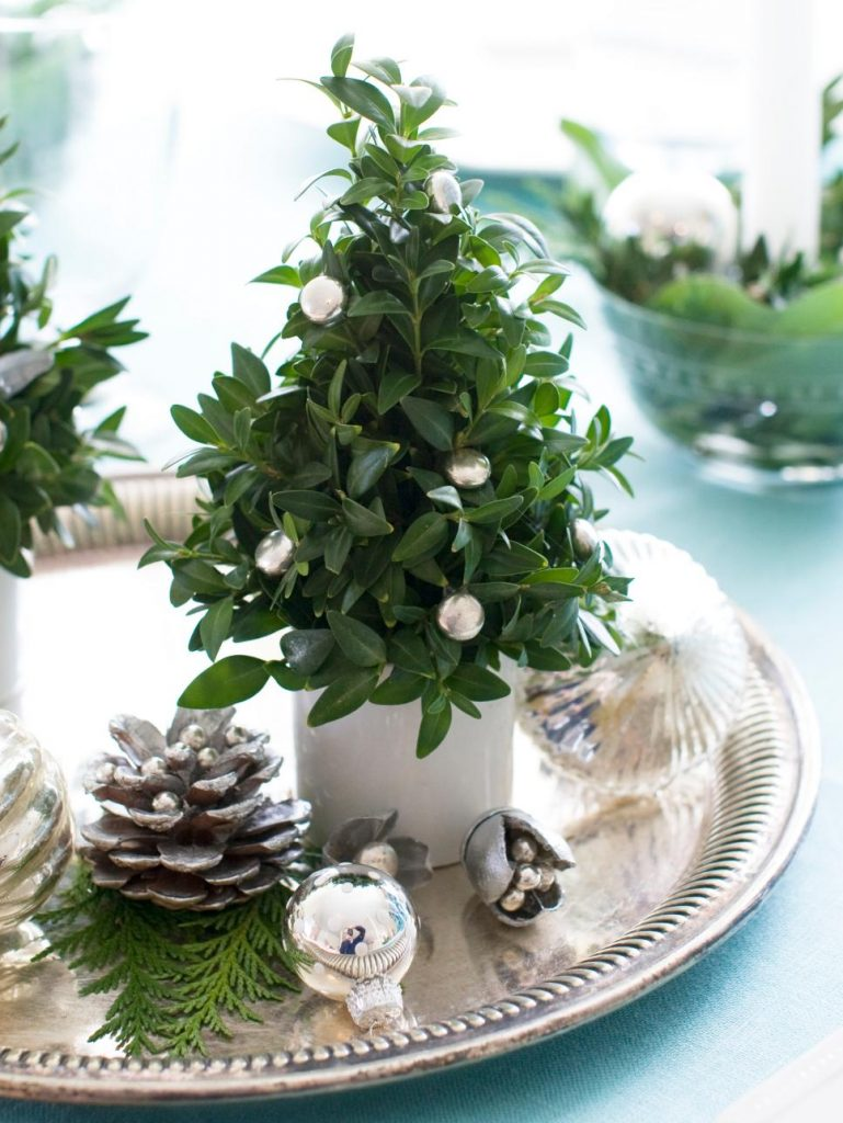30 inexpensive and cheap christmas centerpiece ideas for Cheap xmas decorations