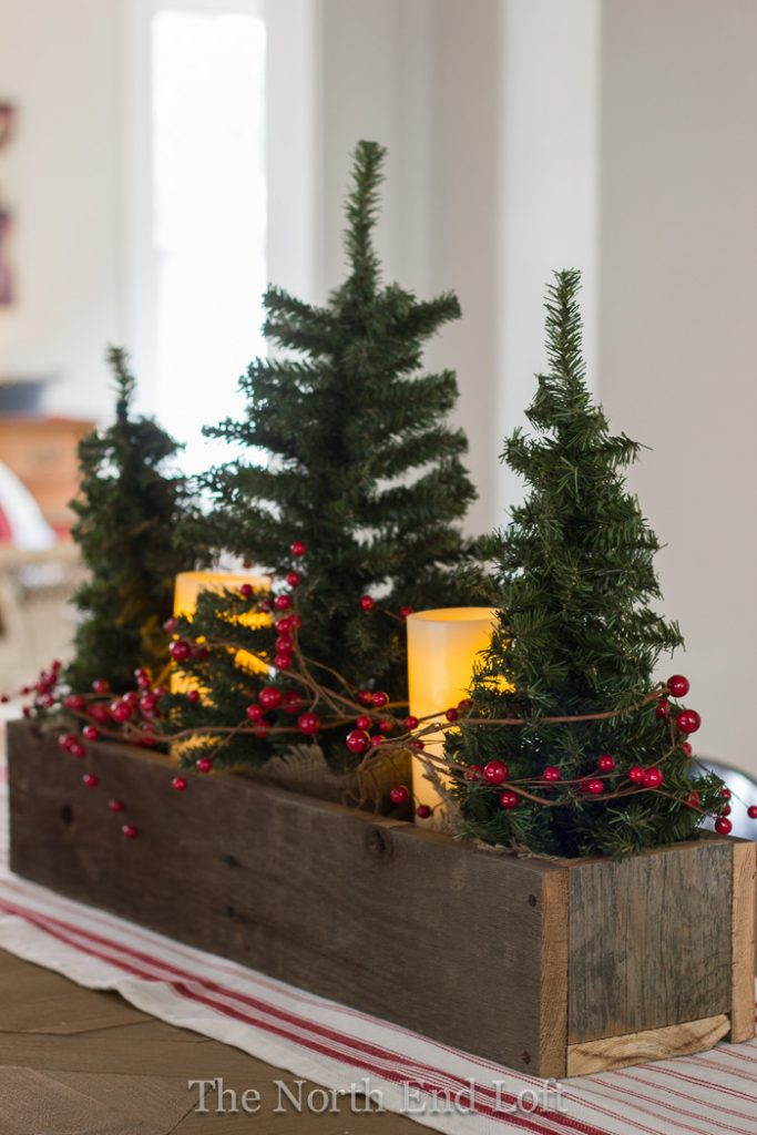 Christmas Table Centerpiece Decoration