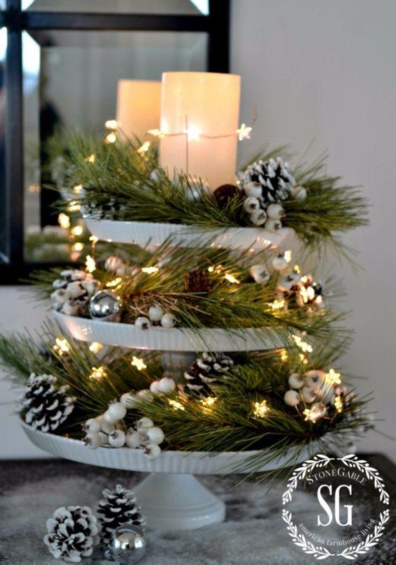 Christmas Table Centerpiece Decoration