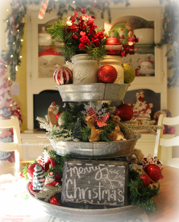 Xmas Table Centerpieces Ideas: Prettiest Christmas Table Centerpiece Decoration Ideas