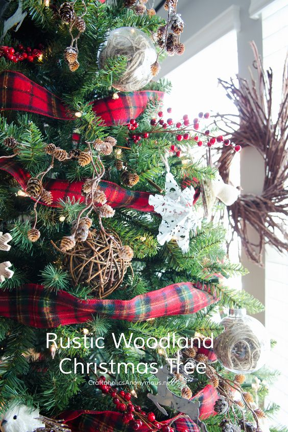 Christmas Tree Garland Ribbon