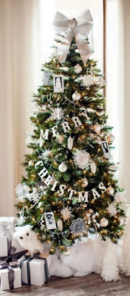 30 Beautiful Christmas Tree Garland Decoration Ideas - Christmas ...