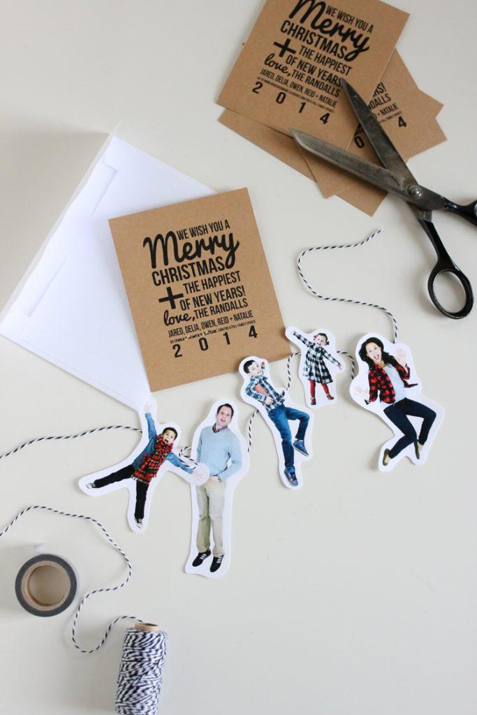 diy christmas card ideas handmade christmas cards. Black Bedroom Furniture Sets. Home Design Ideas