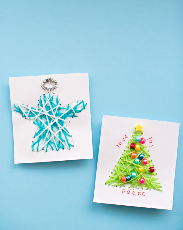 Diy Christmas Card Ideas Handmade Christmas Cards