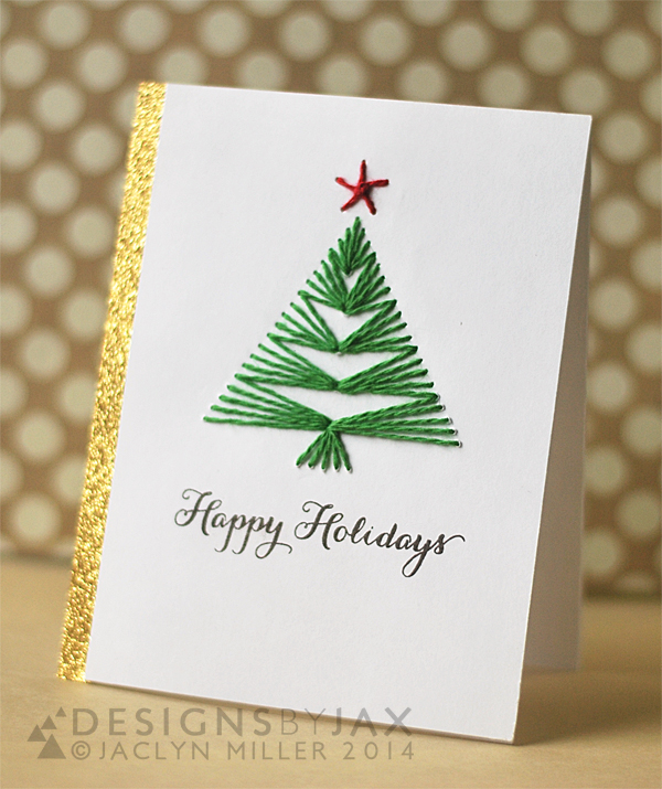 DIY Christmas Card Ideas- Handmade Christmas Cards ...