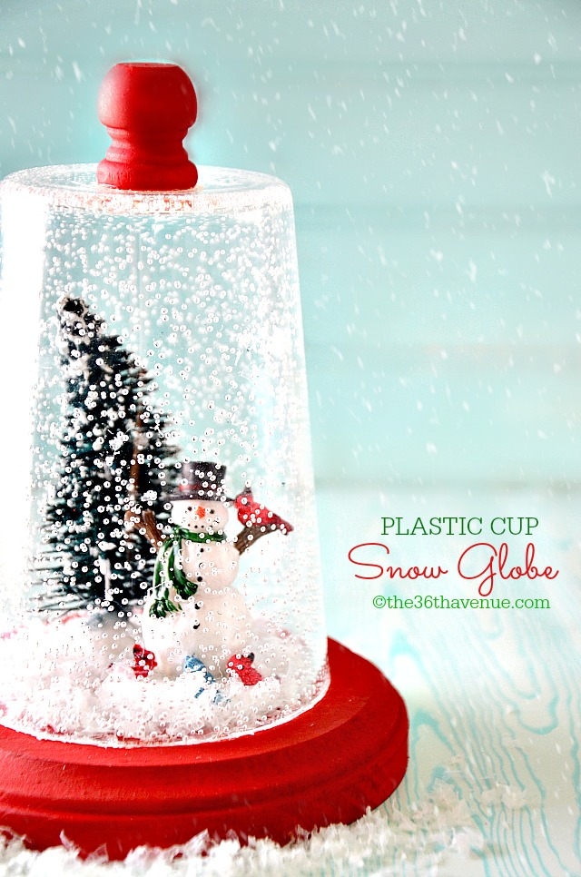 25 Magical DIY Christmas Snow Globes - Christmas ...