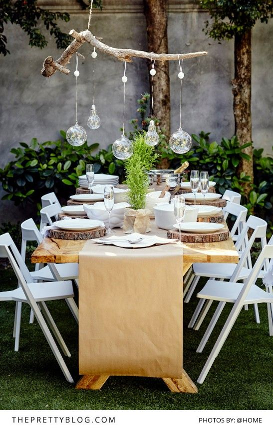 Outdoor Table Setting & Top Christmas Table Settings - Christmas Celebration - All about ...