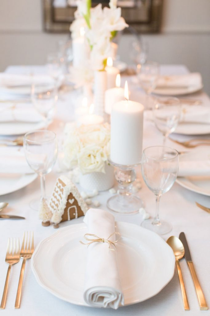 elegant Christmas table setting ideas & Top Christmas Table Settings - Christmas Celebration - All about ...
