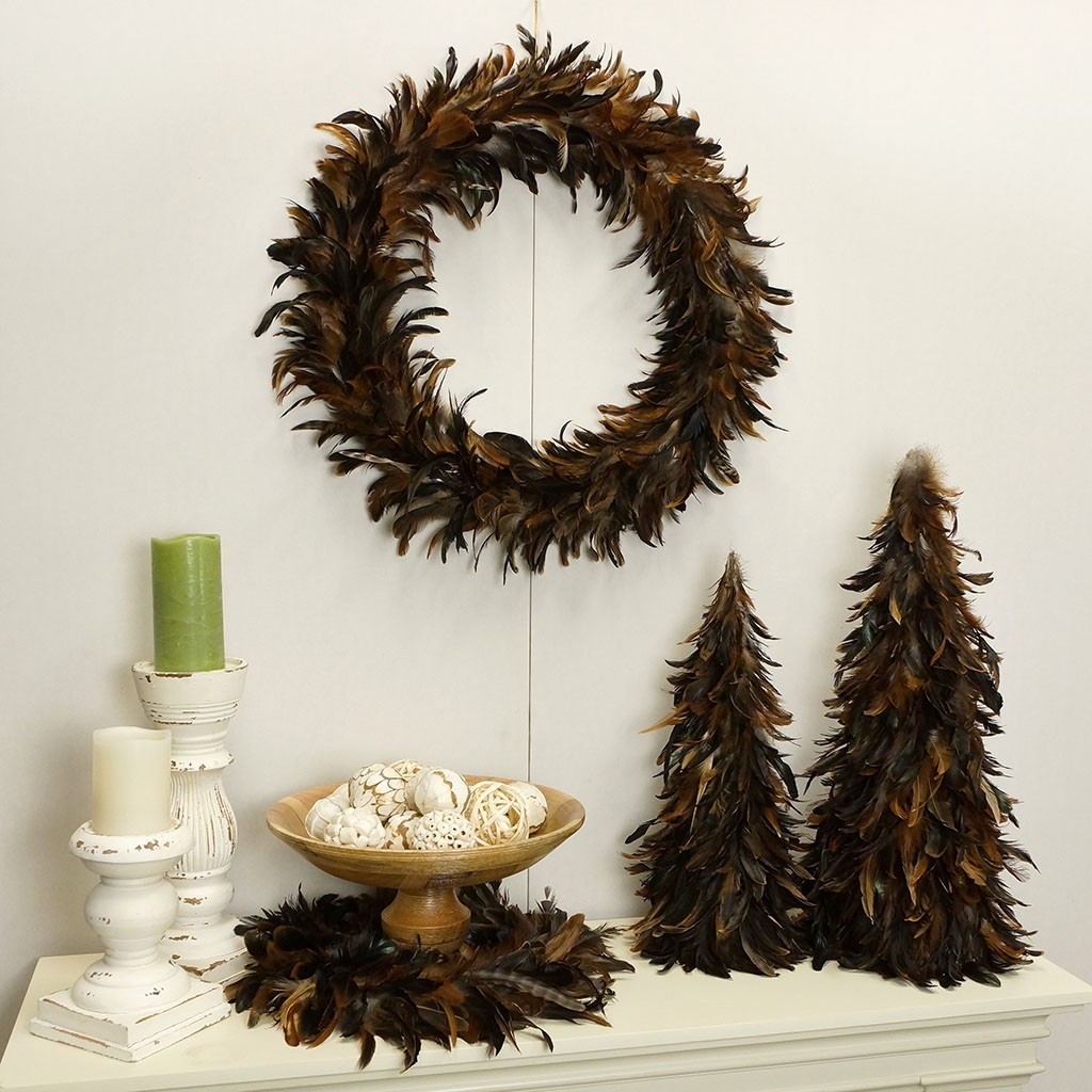 feather christmas tree decoration ideas - Feather Christmas Tree Decorations