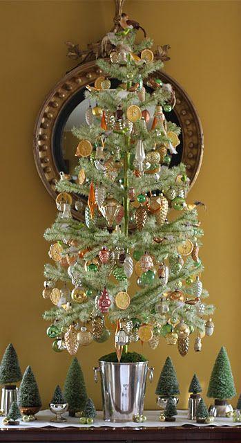 Feather Christmas Tree Decoration Ideas