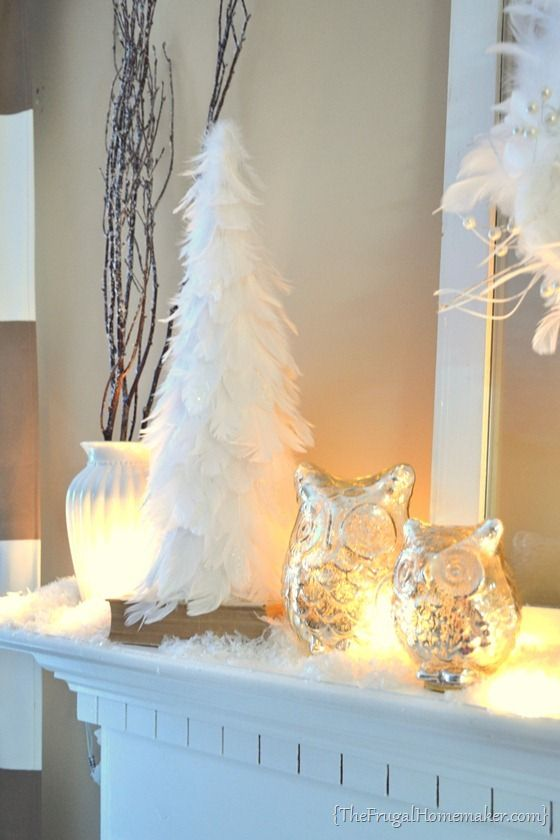 Feather Christmas Tree Decoration Ideas