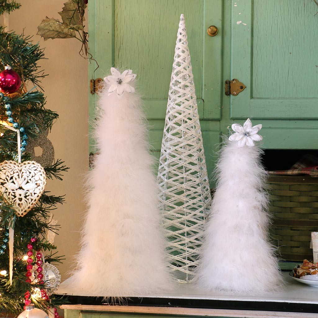 White Christmas Tree Decoration Ideas