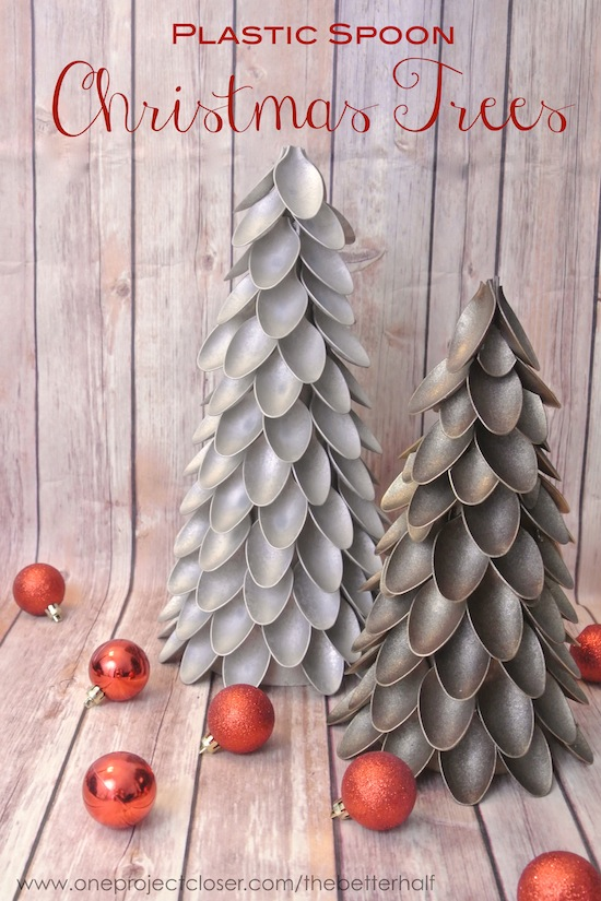 spoon trees - Homemade Christmas Decor