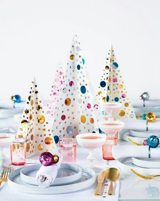 homemade christmas table decoration ideas with make christmas table decorations