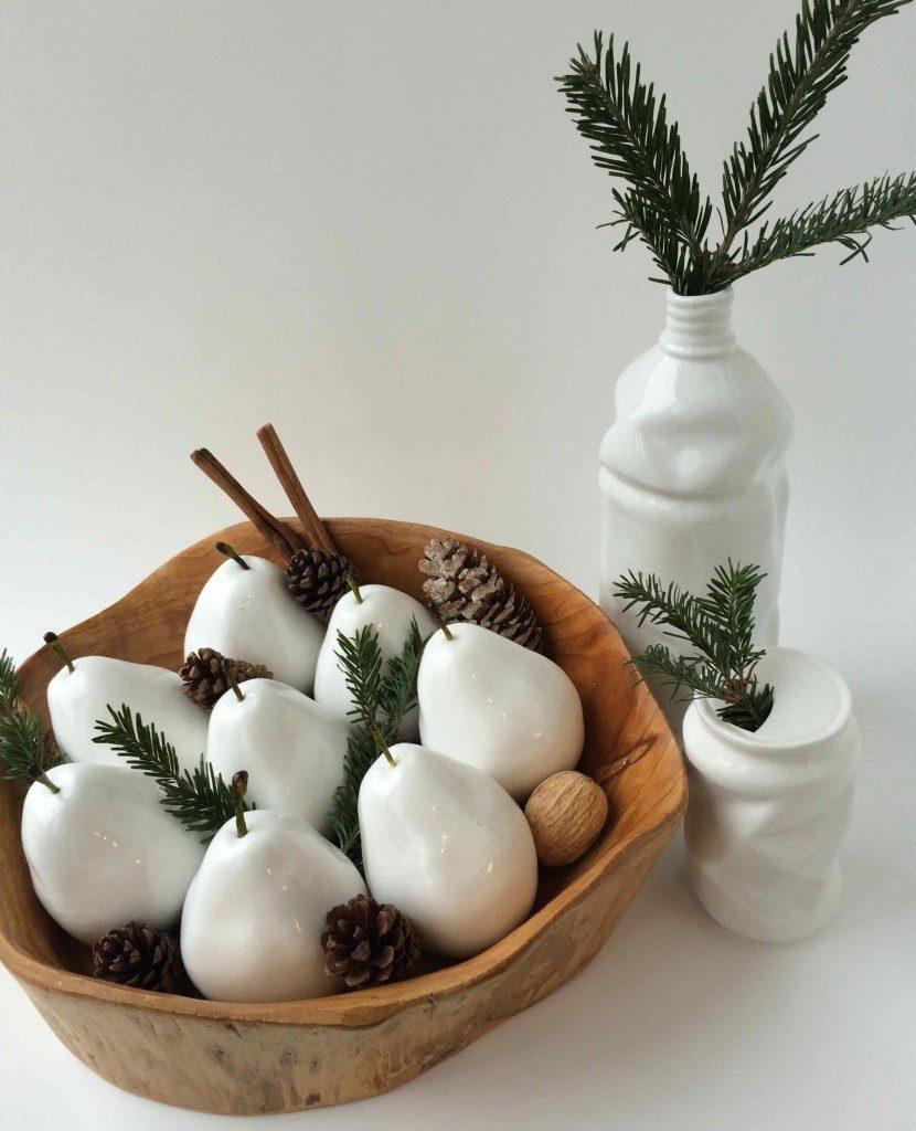 Top Homemade Christmas Table Decorations - Christmas Celebration ...