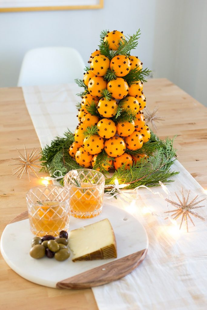 30 homemade christmas table decoration ideas christmas Diy christmas table decorations