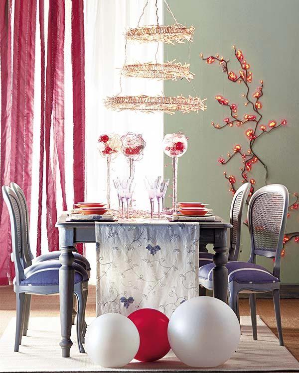 Modern Christmas Table Setting Ideas Christmas Celebration All