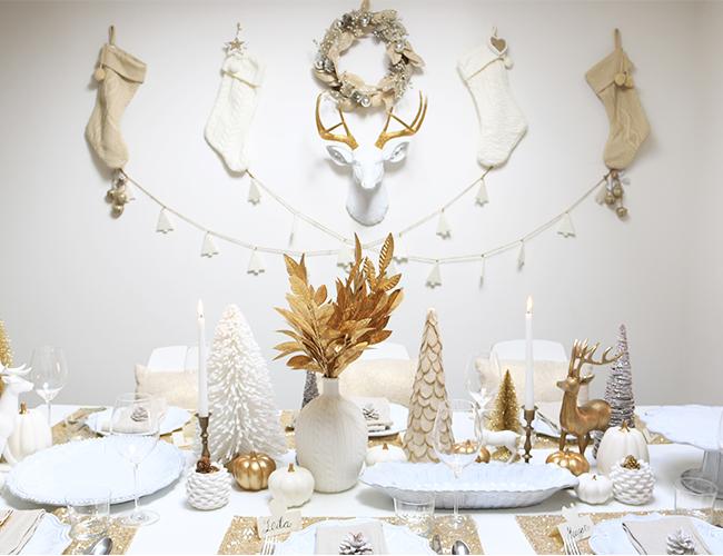Modern Christmas Table Setting Ideas Christmas