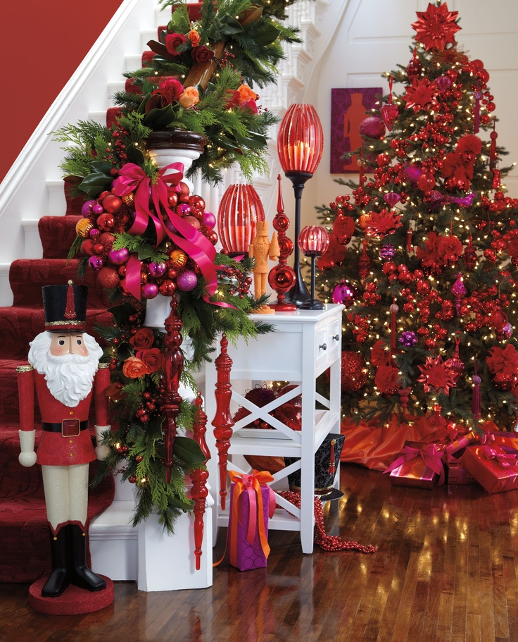 Red Christmas Tree Decorations Ideas - Christmas Celebration - All ...
