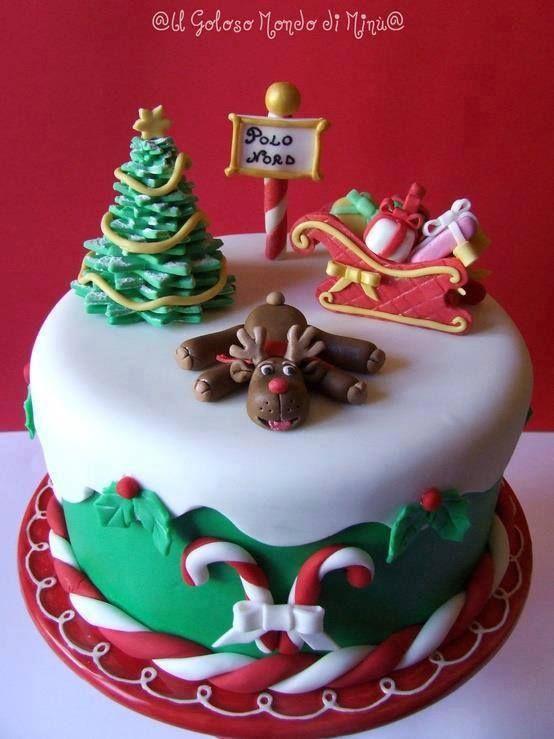 Christmas Scene Cake Decorations Christmas Decorations 2019