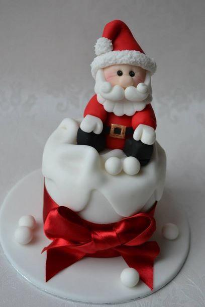 How To Decorate Mini Xmas Cakes