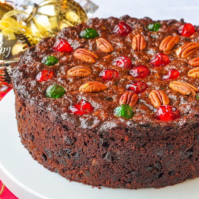 Christmas Cake With Pecans Recipe