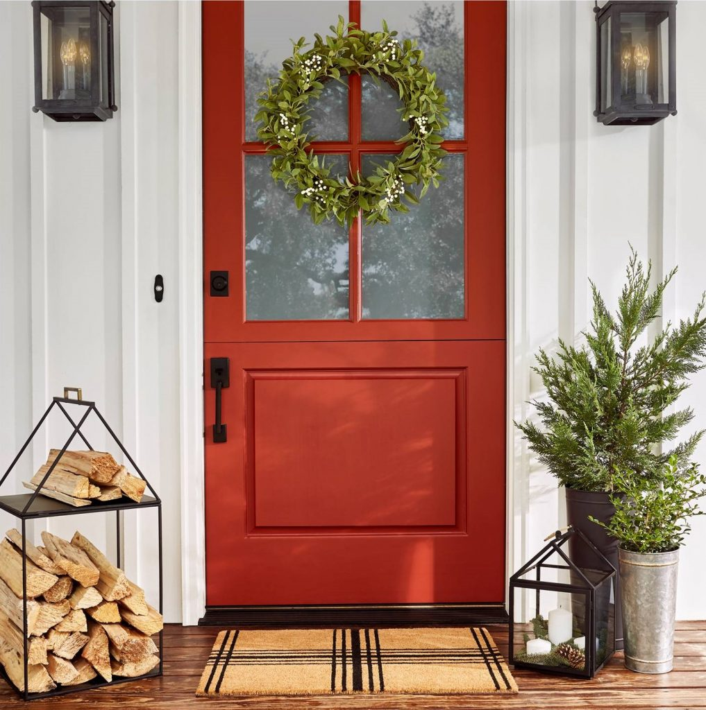 100 christmas door decoration you could sweetladyelaine