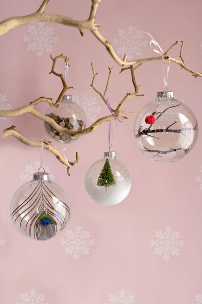 plain glass ornaments dont cost more than a dollar but if you can deck it up with your creativity you can sell them for a couple of dollars - Christmas Decorations To Make And Sell