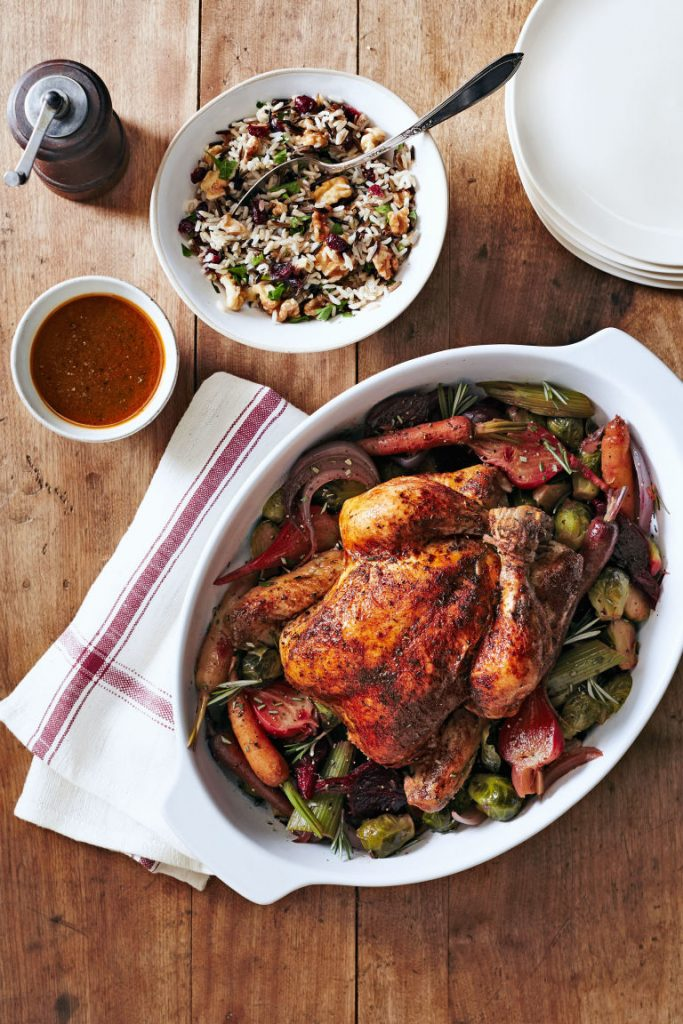 a roasted dish is an absolute must for christmas dinner whether its lamb ham turkey or chicken if youre a chicken person you can consider making this