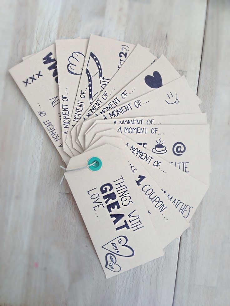This Is One Of The Most Unique Christmas Gift Ideas For Best Friend These Handmade Coupons Allow Your To Redeem Whenever She Requires
