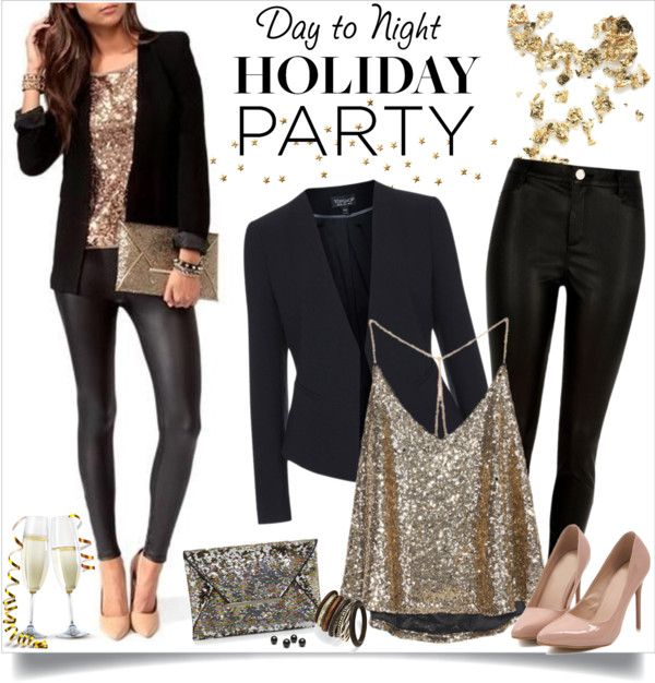 Day To Night: - 30 Christmas Party Outfit Ideas - Christmas Celebration - All About
