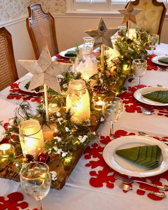 Xmas Table Centerpieces Ideas: Christmas Table Setting Ideas- Our Top Picks