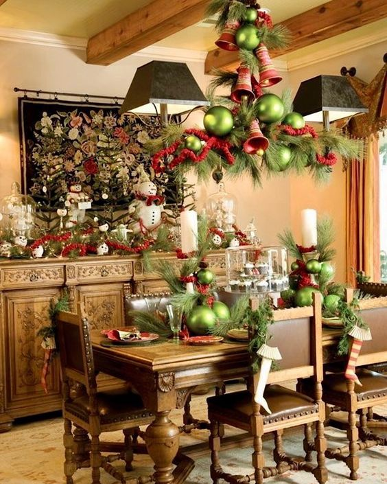 Christmas table setting ideas our top picks christmas for Christmas decorating ideas for dining room table