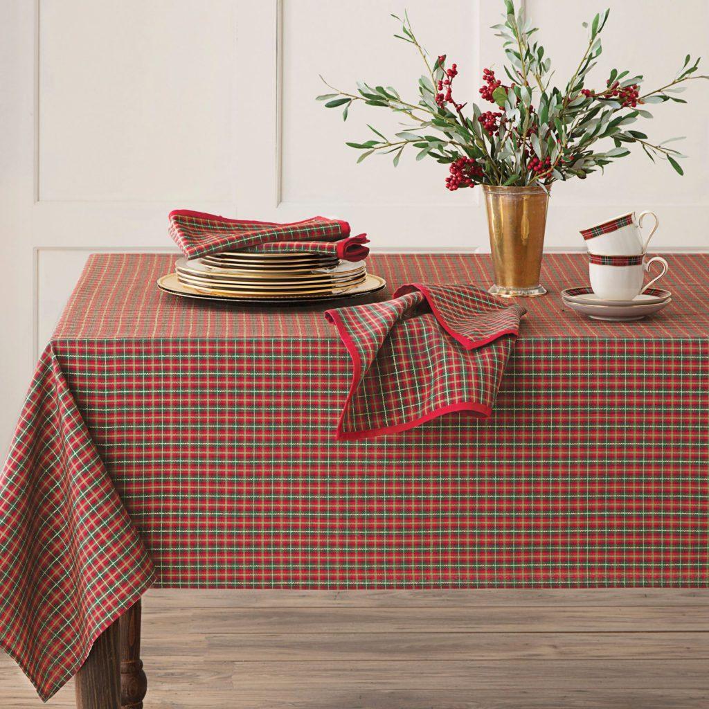 Christmas tablecloth