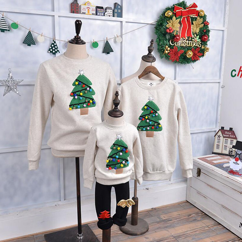 26 matching family christmas sweater ideas christmas celebrations heres another beautiful matching family sweater design for you to ponder over its a simple off white sweater with a christmas tree pattern solutioingenieria Image collections