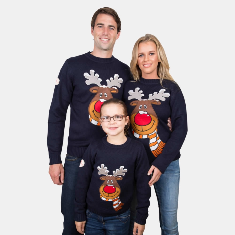 S Kids Christmas Sweater