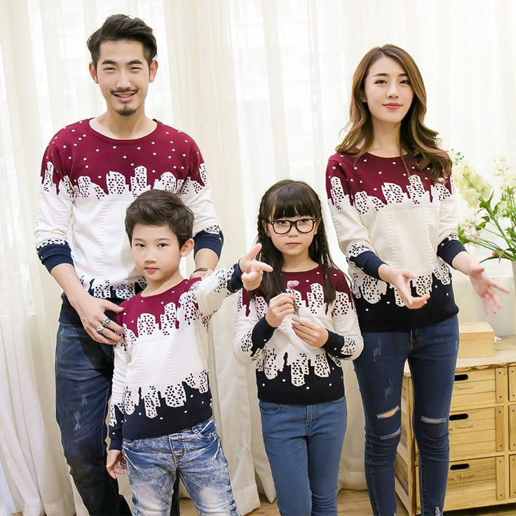 Matching Family Christmas Sweater