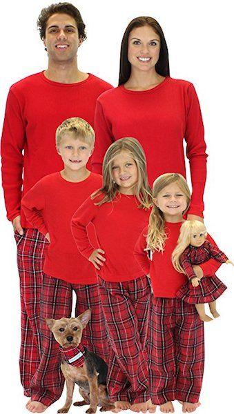 Family Christmas Pajamas Including Dog.26 Matching Family Christmas Sweater Ideas Christmas