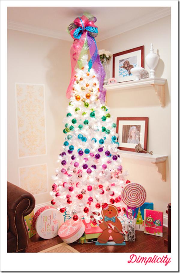 White Christmas Tree Decorating Themes Christmas Tree Decorations